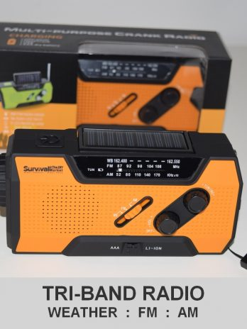 Quad Powered Emergency Survival Radio