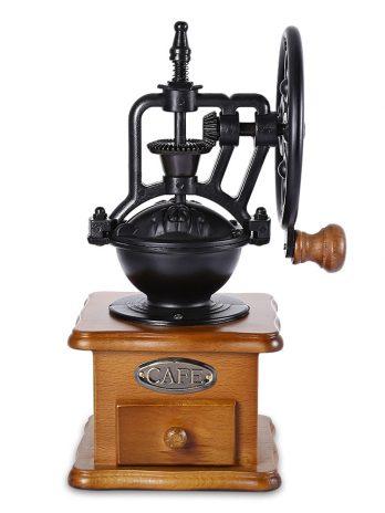 Retro Style Burr Coffee Grinder Hand Grinding Machine Hand-crank Roller