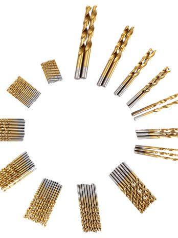 99pcs High-speed Steel Twist Drill Bits 1.5mm – 10mm Tool with Case
