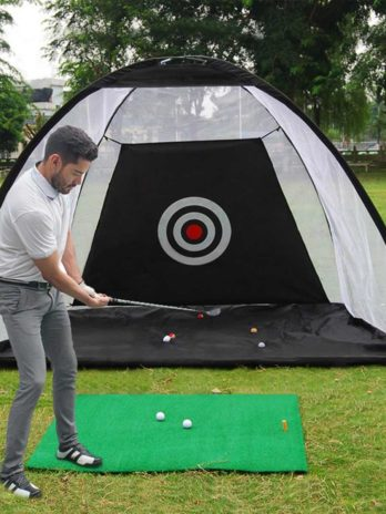 Backyard Golf Practice Cage